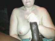 Grasa chica blanca vs gran polla negro
