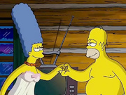 Homer Simpson folla Marge (sexo animado)