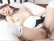 Espa nena follada vestida como una criada sin Censura