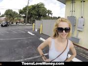Adolescente se follan en público por dinero