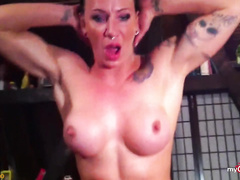Image Sporty tattooed german loves to fuck