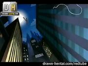 Porno de superhéroes - Hombre Araña y Gwen Stacy (XXX)