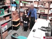 Robo ladrón follado por el oficial de LP