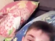 Joven pareja rusa follando en una transmisión en vivo