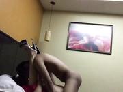 Follando en un hotel