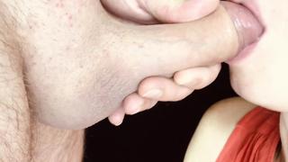 Una Mamada Lenta Y Sensual Y Comer Semen   ASMR